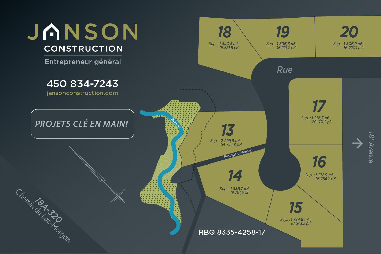 Map nouveaux terrains à vendre